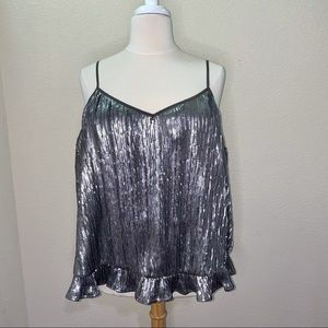 NWT Anthropologie Sequin Camisole Size 26W